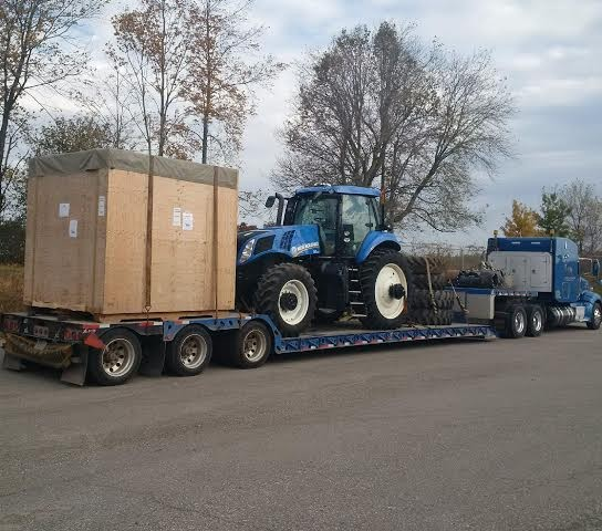 Industrial Equipment and Machine Shipping